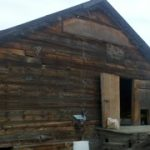 Reclaiming Lumber & Timbers from a Prineville Potato Barn