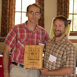 Earth Advantage Award for Lowest EPS-Timberline Construction of Bend